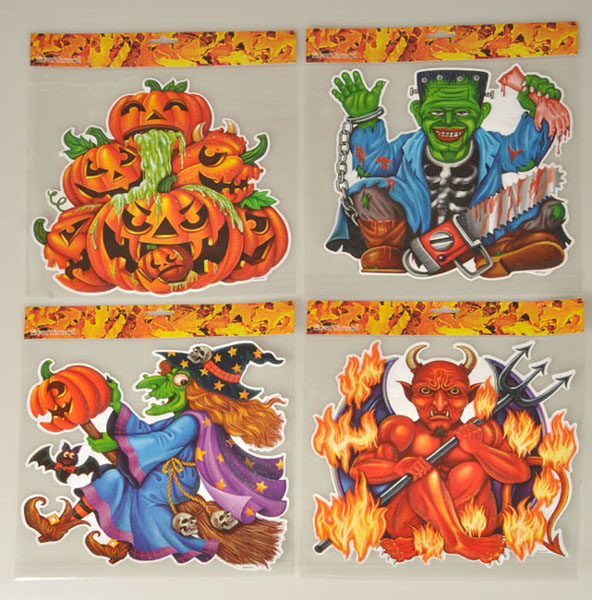 493020 Obtisky Halloween 4ass. 35x31